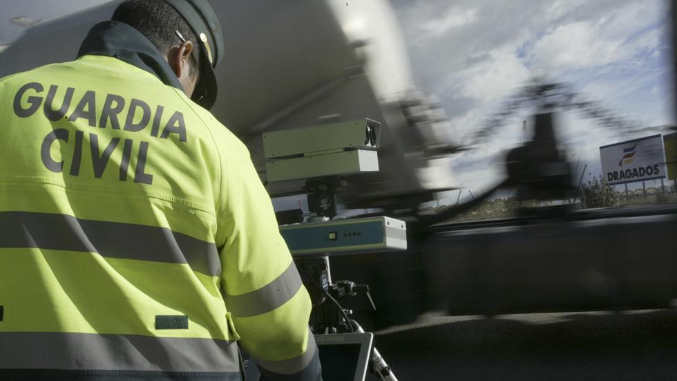 Nuevo control especial de velocidad de la DGT