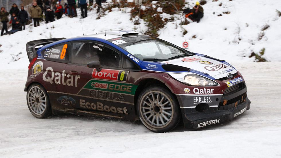 Malcom Wilson, 'ya rueda el nuevo Ford Fiesta WRC'