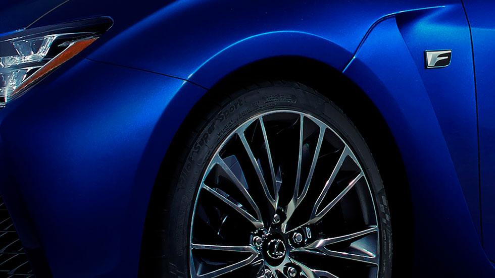 Nuevo Lexus F, primer teaser desvelado