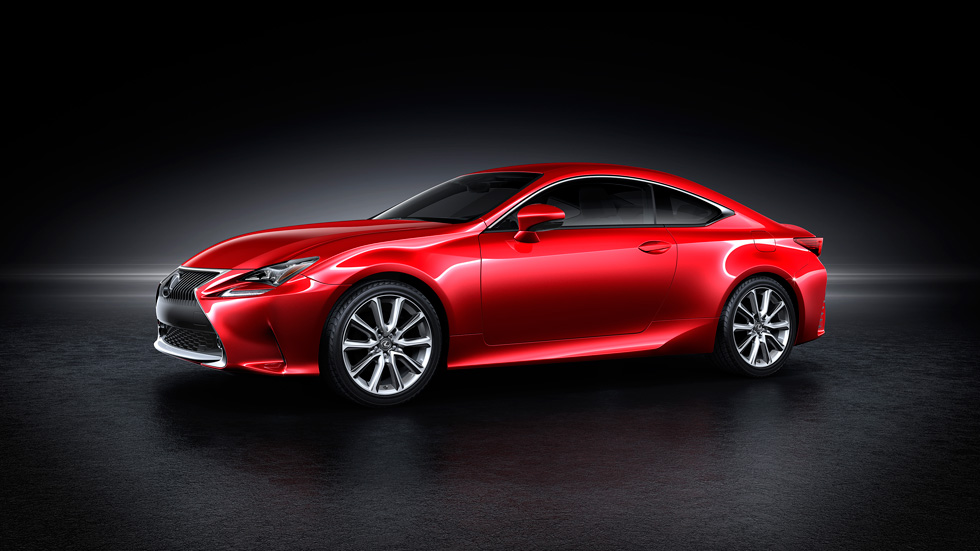 Nuevo Lexus RC: un coupé brutal y elegante