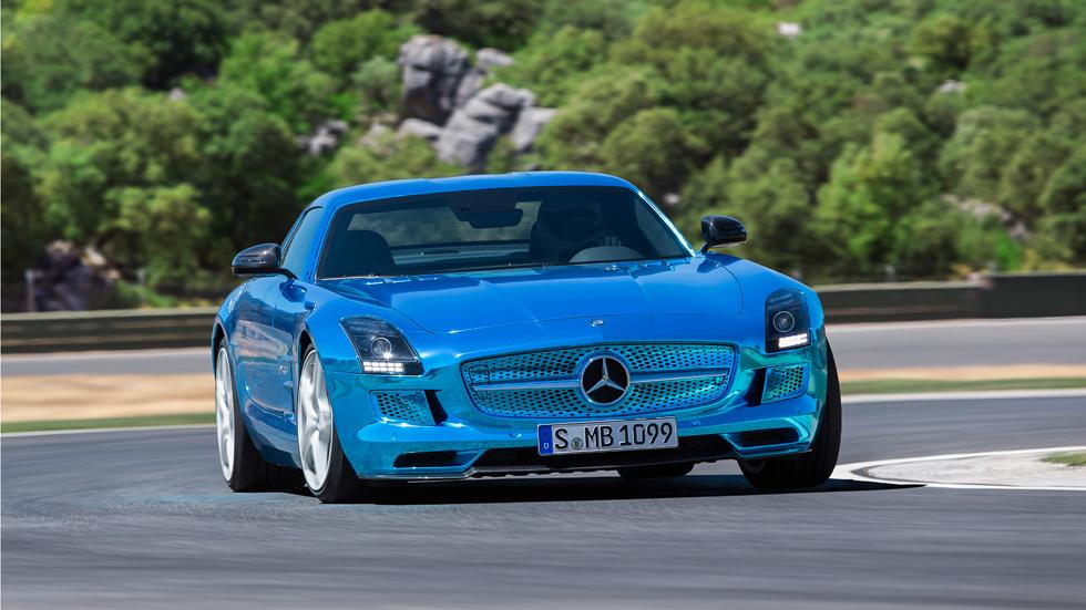 Mercedes SLS AMG Coupé Electric, tormenta eléctrica