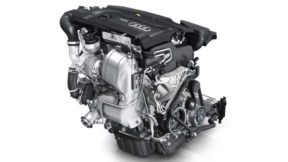 Nuevo motor Audi 1.4 TDI de 90 CV, eficiente y transversal
