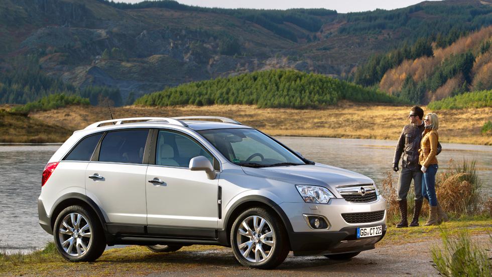 Opel Antara 2013, mejoras en diseño y equipamiento