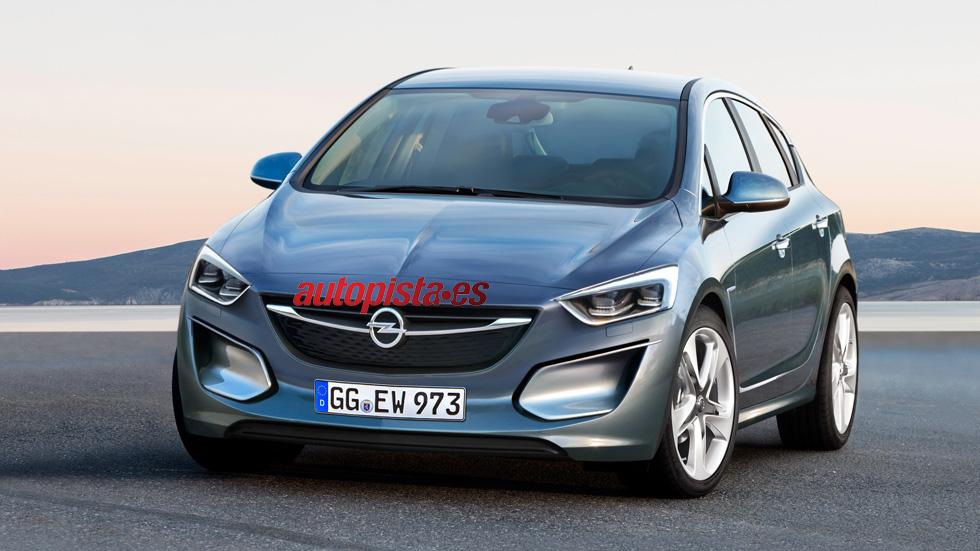 Nuevo Opel Astra, más moderno y ligero