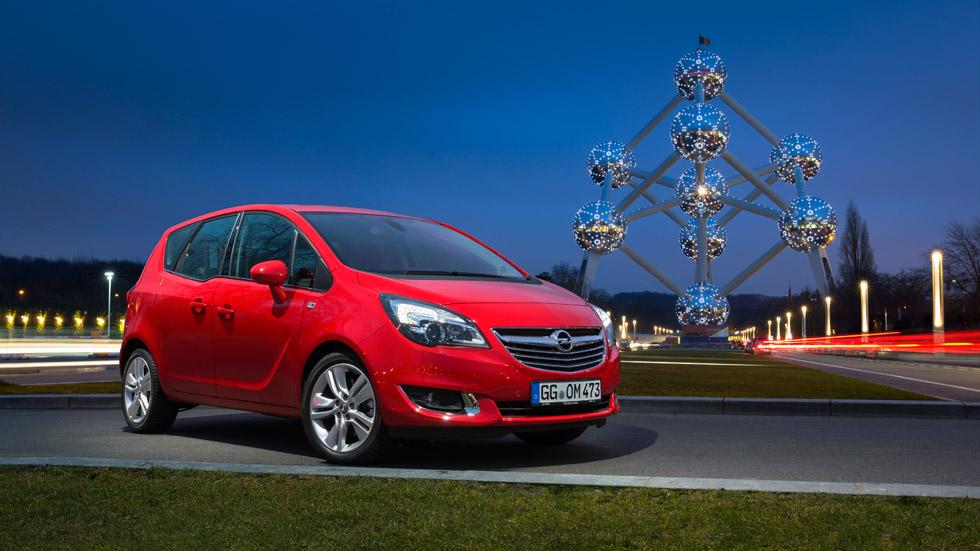Opel Meriva 2014, el monovolumen pequeño más eficiente
