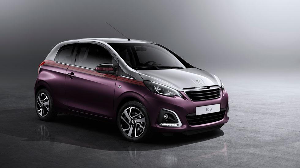 Nuevo Peugeot 108, aire fresco para la ciudad