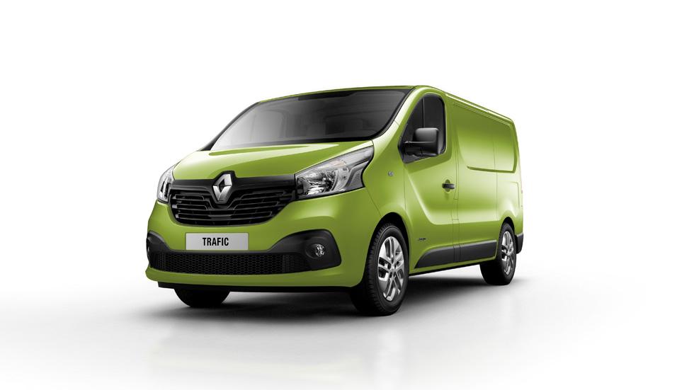 Nuevo Renault Trafic, hasta 270 combinaciones diferentes
