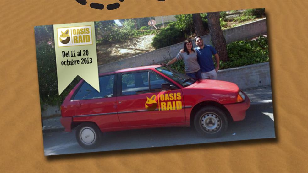 OasisRaid 2013: aventura en coches de los 80 y 90