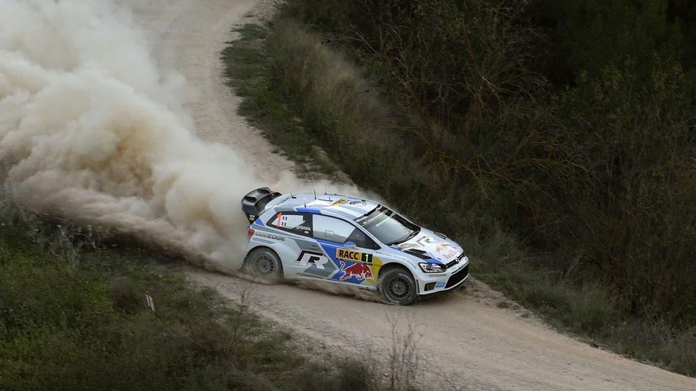 Ogier, lider en el Rally de Cataluña, quiere sentenciar el título