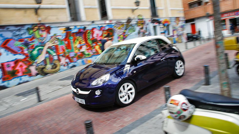 Prueba: Opel Adam 1.4, movimiento ciudadano