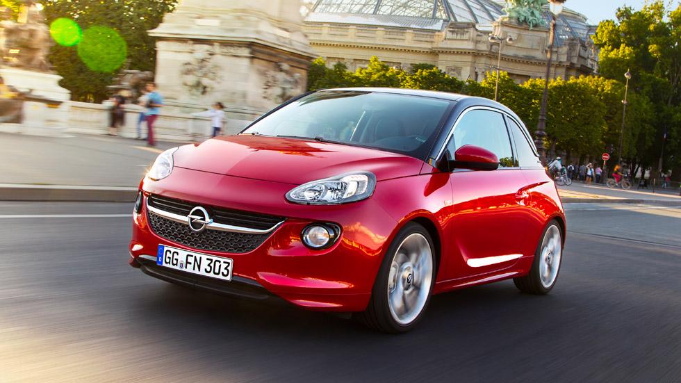 El Opel Adam, con el motor tricilíndrico 1.0 turbo