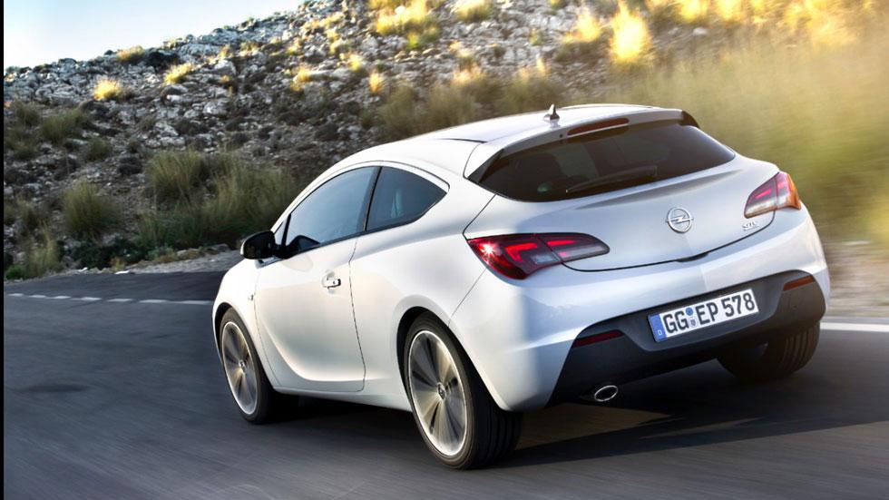 Opel Astra GTC 1.6 SIDI Turbo, 170 CV para el Astra 3 puertas