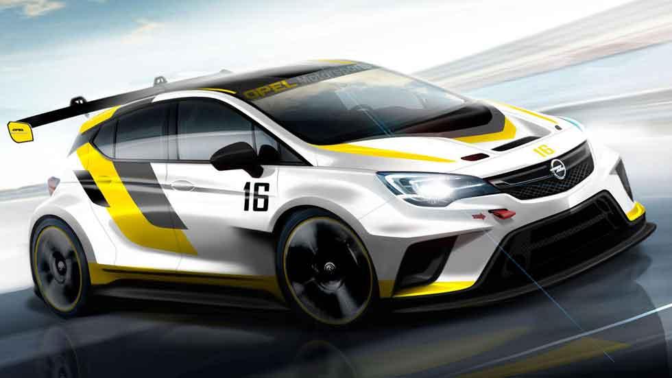 Opel Astra TCR, preparado para correr en todos los circuitos