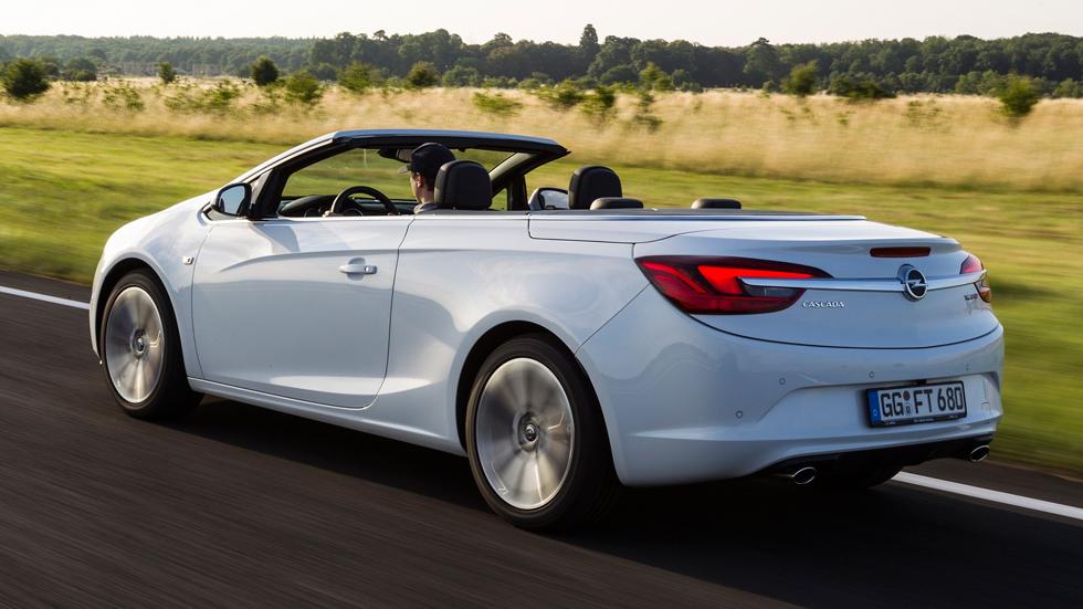 Opel Cabrio 1.6 SIDI Turbo, 200 CV al aire libre