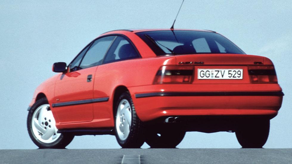 Opel Calibra, 25 años del coupé del pueblo
