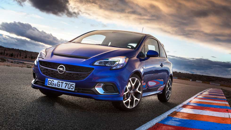 Opel Corsa OPC, un coche utilitario de circuito