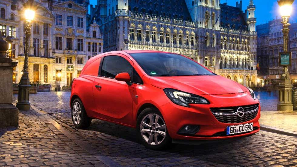 Opel Corsavan 2015, el utilitario para los repartos