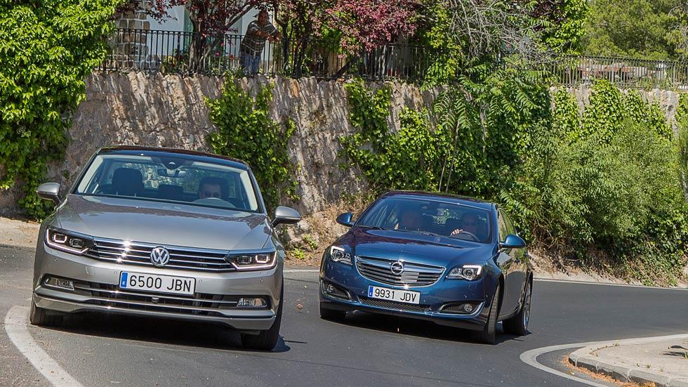 Opel Insignia 2.0 CDTi contra VW Passat 2.0 TDI DSG