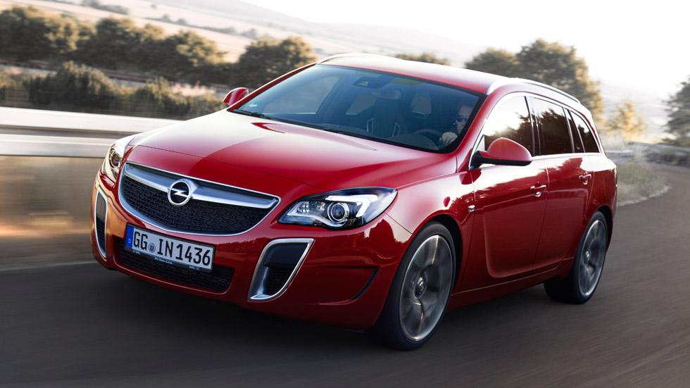 Nuevo Opel Insignia OPC: berlina deportiva