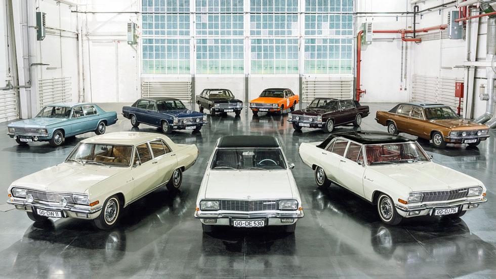 Opel KAD, 50 años de la gama de lujo