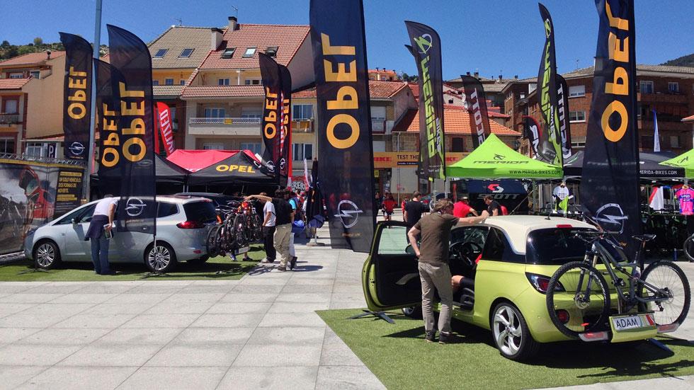Opel, la mejor marca de coches para la bici, en el Test the Best