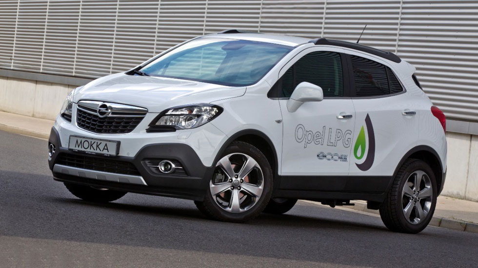 Opel Mokka GLP, el rival del Juke se pasa al gas