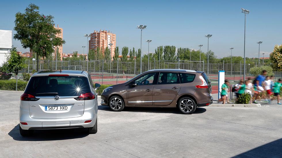 Comparativa: Opel Zafira Tourer 1.6 CDTi vs Renault Grand Scénic 1.6 dCi
