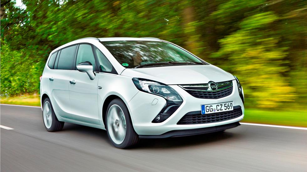 Opel Zafira Tourer 1.6 CDTI, el siete plazas más eficiente