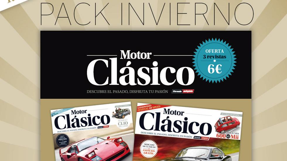 Pack especial de Motor Clásico: tres revistas por 6 euros
