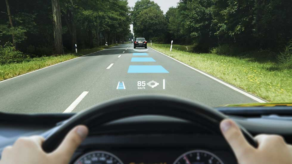 El parabrisas de realidad aumentada de Continental, más que un Head-up Display