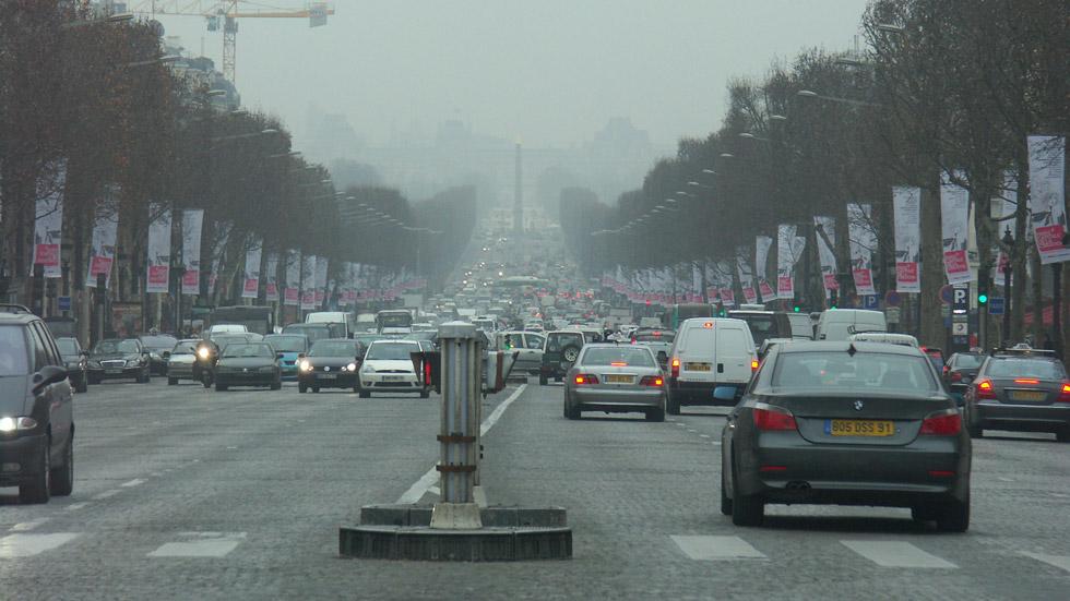 Llega la prohibición de conducir por París