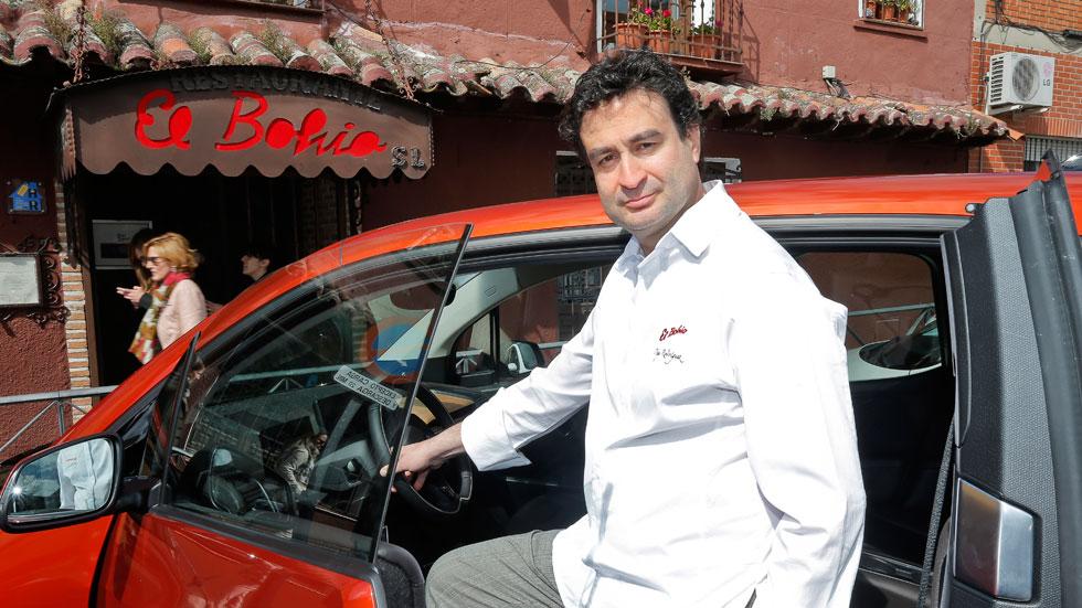 El cocinero de MasterChef habla de coches… y de cocina
