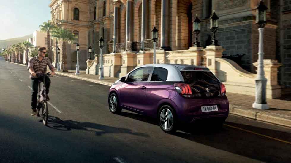 Peugeot 108 Dual, atractiva estética bi-tono