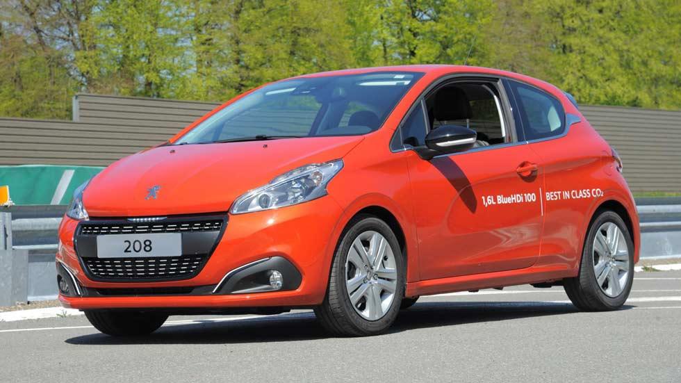 2.152 km con un solo depósito en el Peugeot 208 BlueHDi