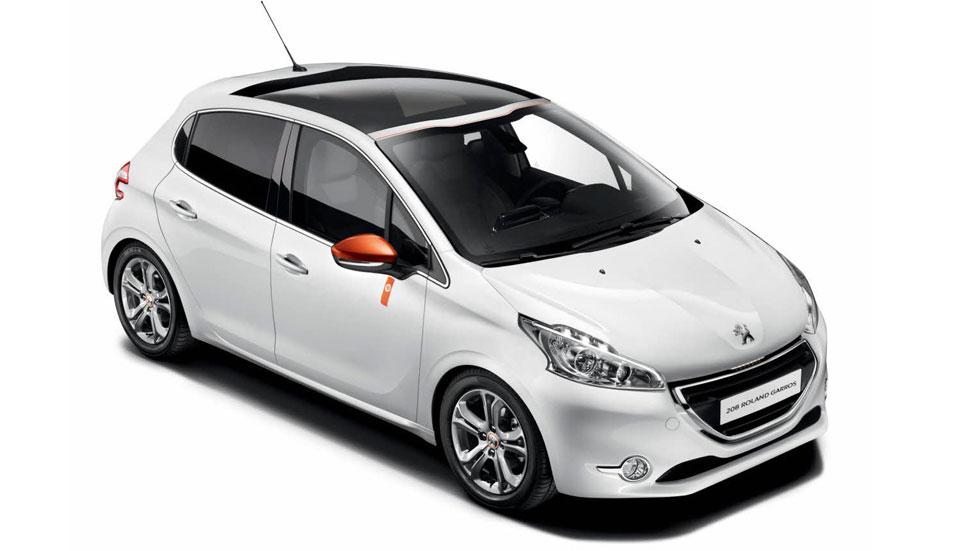 Peugeot 208 Roland Garros, revés francés