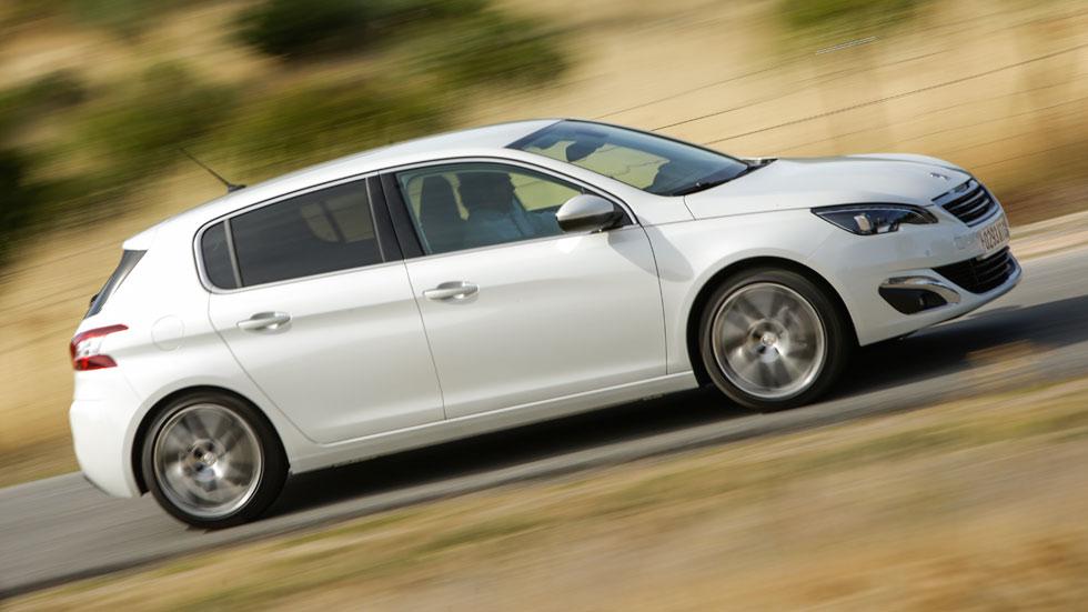 Prueba: Peugeot 308 1.6 e-HDi, cambio de miras