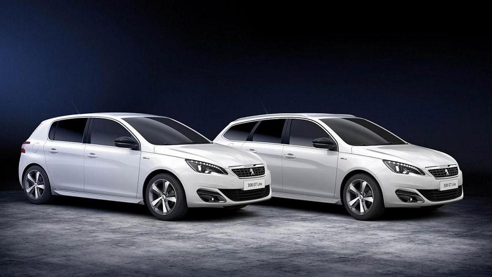 Peugeot 308 y 508 GT Line, apuesta a los detalles deportivos