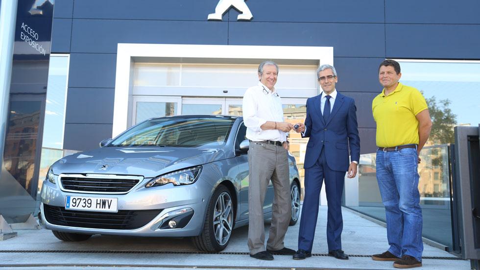 Un nuevo reto de 100.000 km arranca con un Peugeot 308 como protagonista
