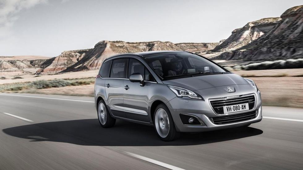 Peugeot 5008 2014: imagen de familia