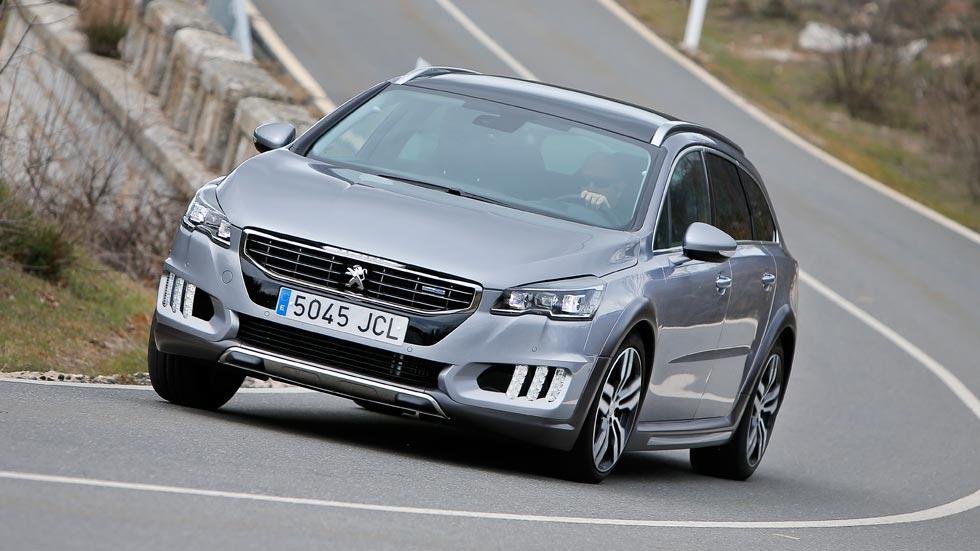 Prueba: Peugeot 508 RXH 2.0 Blue HDi/180 Auto, menos es más