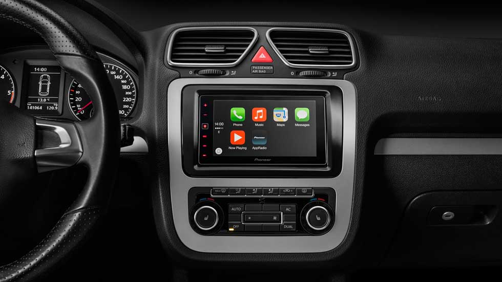 Pioneer, integrando 'CarPlay' de Apple en el coche