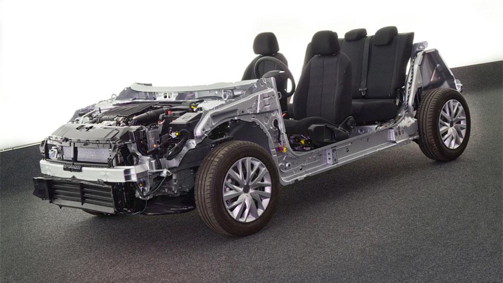Revolucionaria nueva plataforma EMP2, Peugeot y Citroën se reinventan
