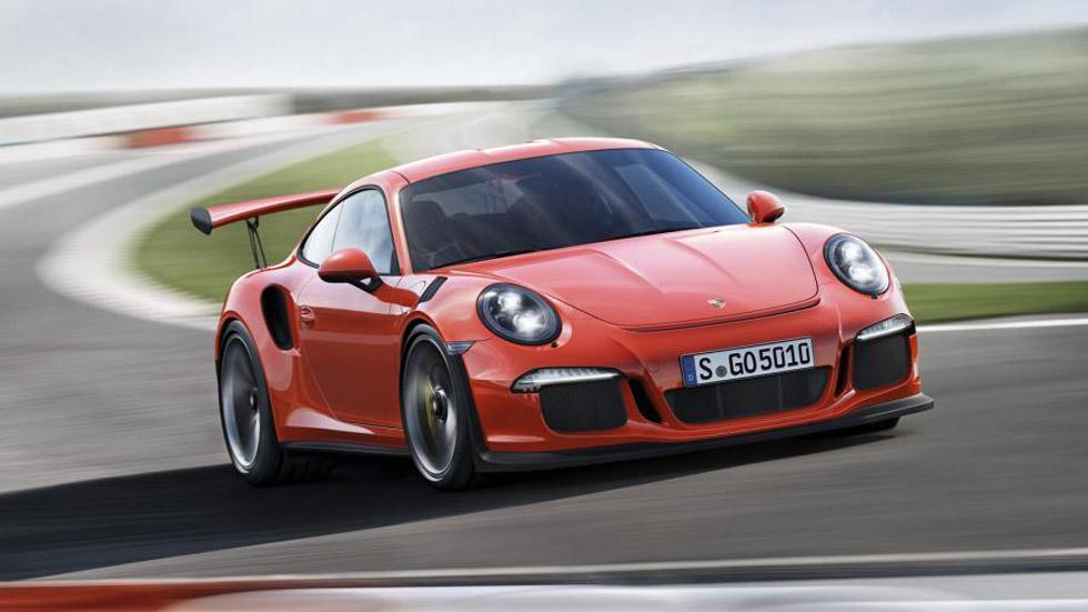 Porsche 911 GT3 RS, rabia deportiva en 500 CV de potencia