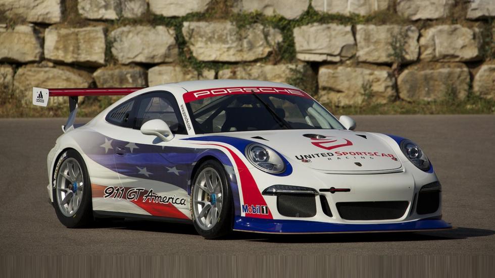 Porsche 911 GT America, pura adrenalina