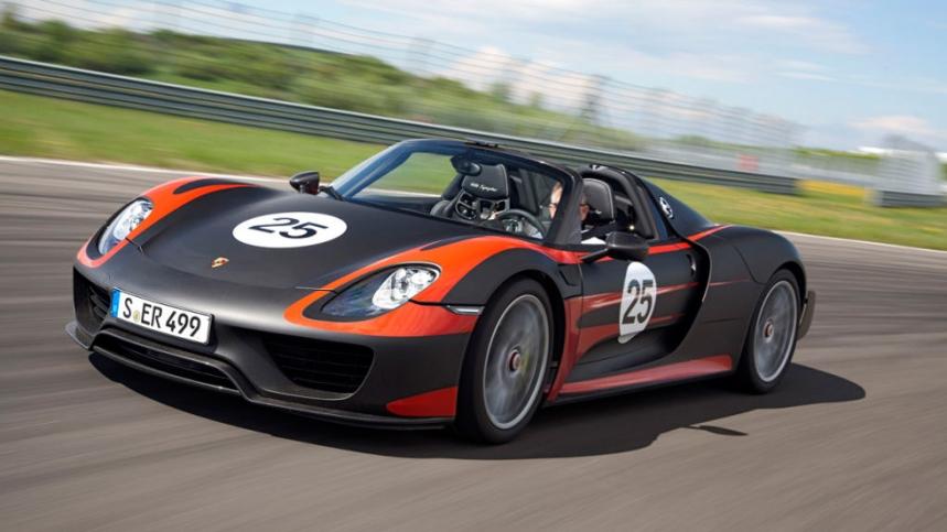 El Porsche 918 Spyder, a punto de agotarse