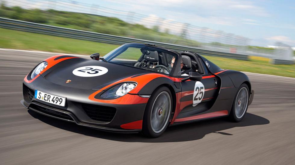 Porsche 918 Spyder: los números finales de un súper híbrido
