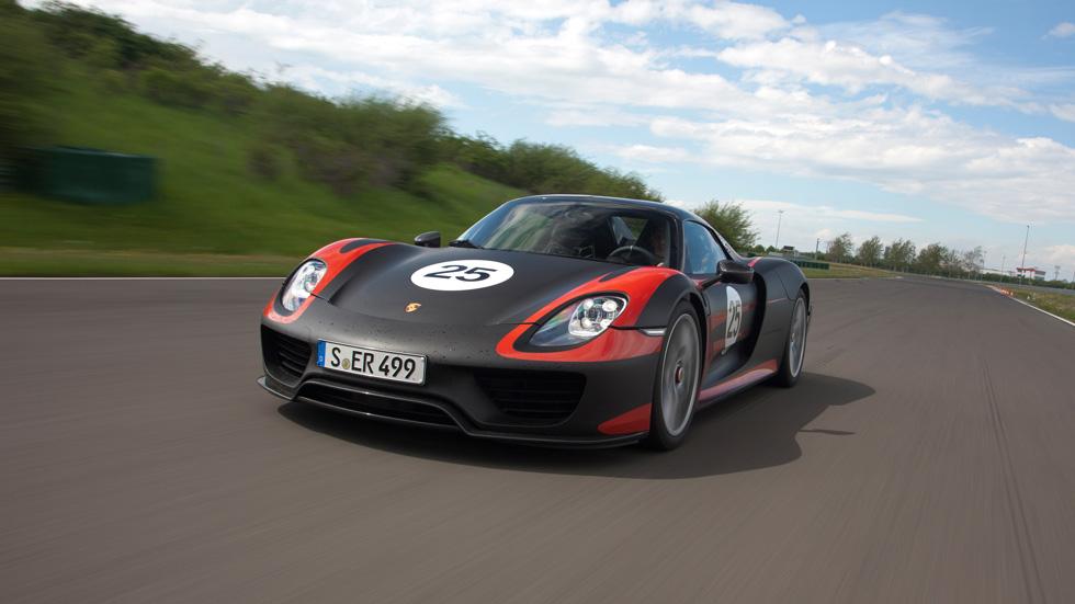 El Porsche 918 Spyder, a punto 'de caramelo'