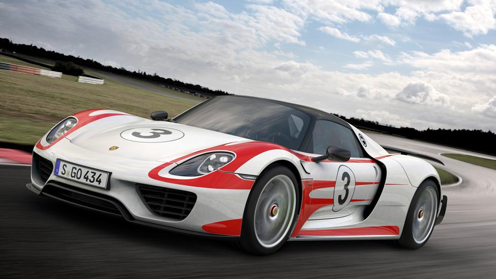 Porsche 918 Spyder, la bestia híbrida vuela en prestaciones