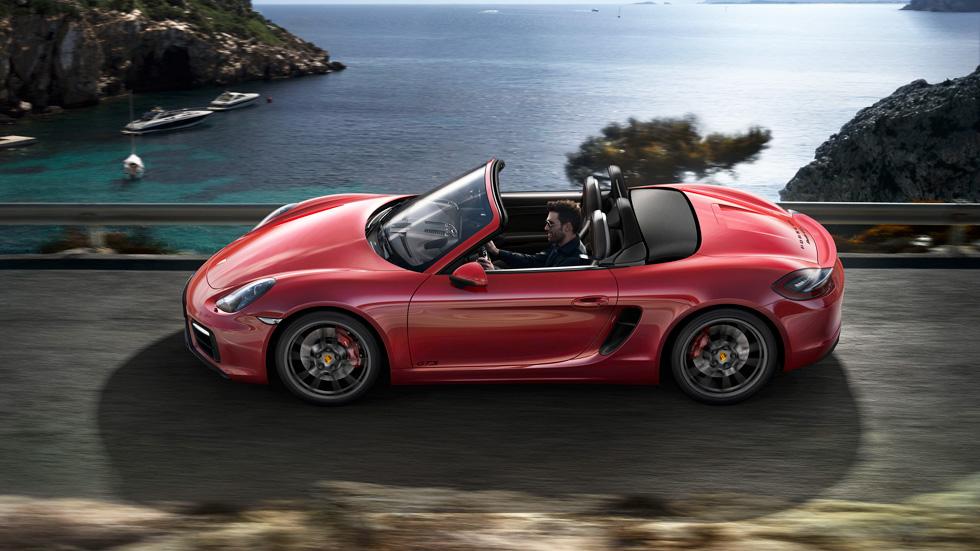 Nuevos Porsche Boxster GTS y Cayman GTS, más madera