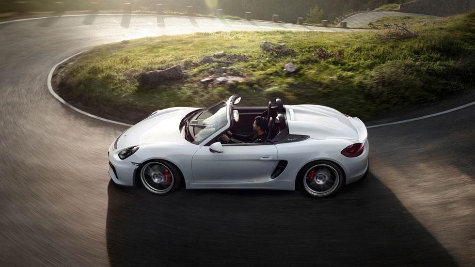 Porsche Boxster Spyder, emoción deportiva
